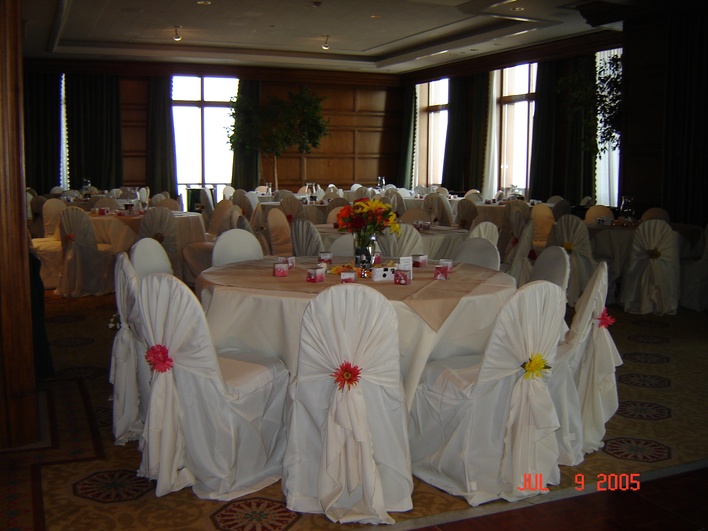 Simply Elegant Weddings Chair Cover Rentals wedding rentals