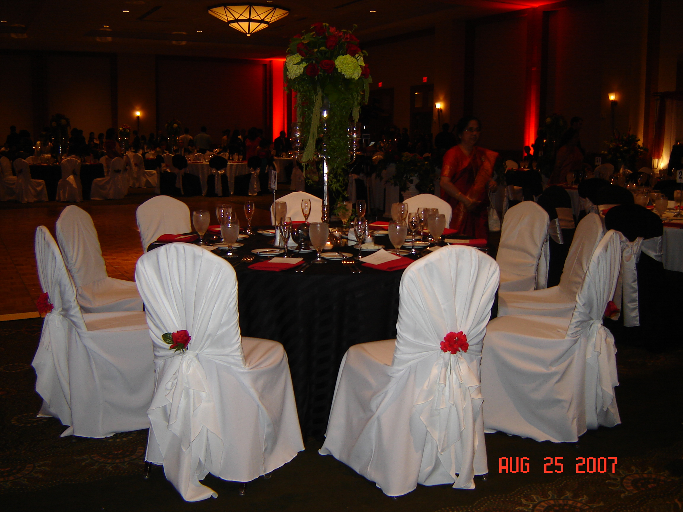 simply weddings chair cover rentals wedding rentals