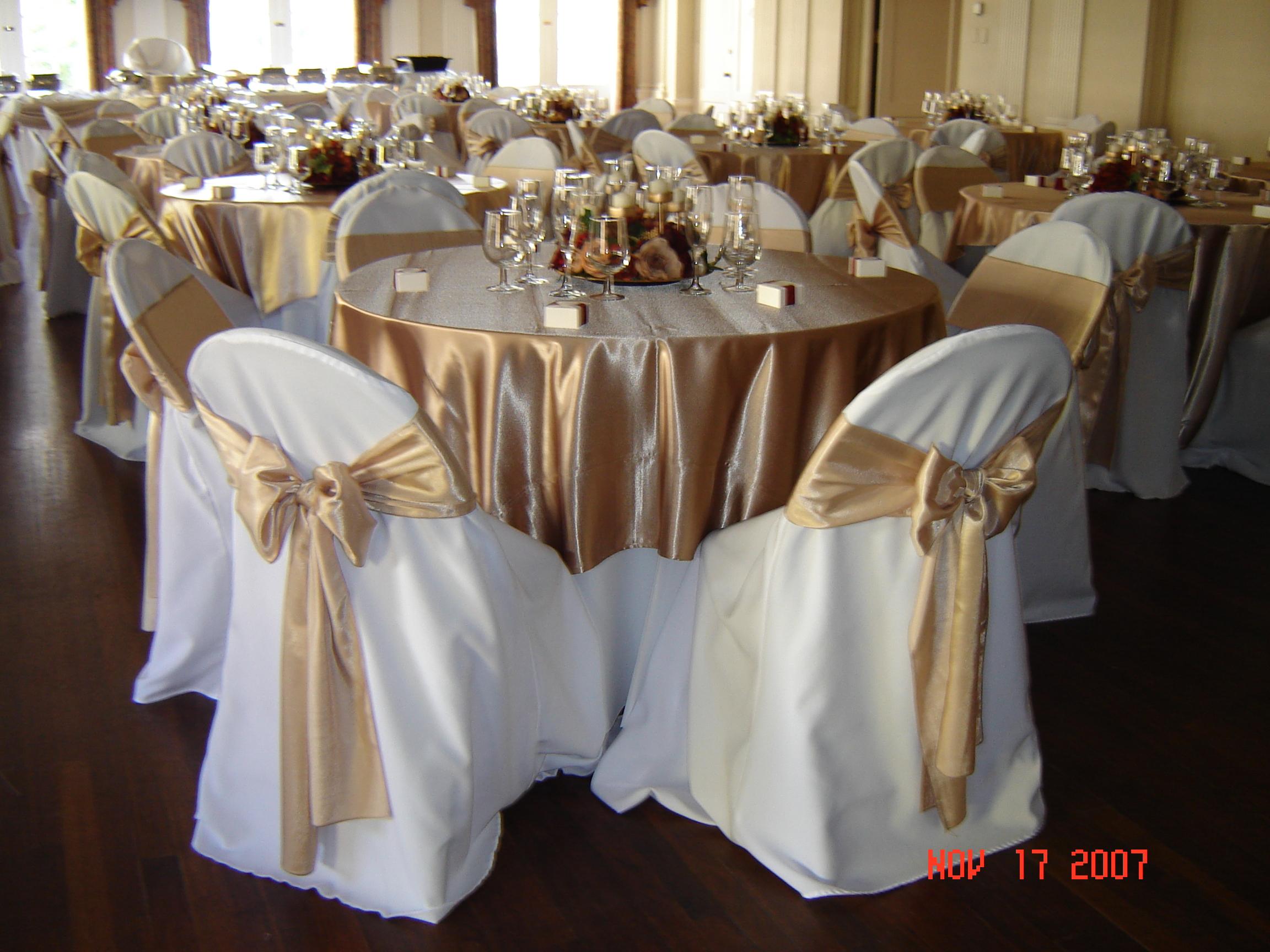 Simply Elegant Weddings Satin Linen Rental Fort Worth