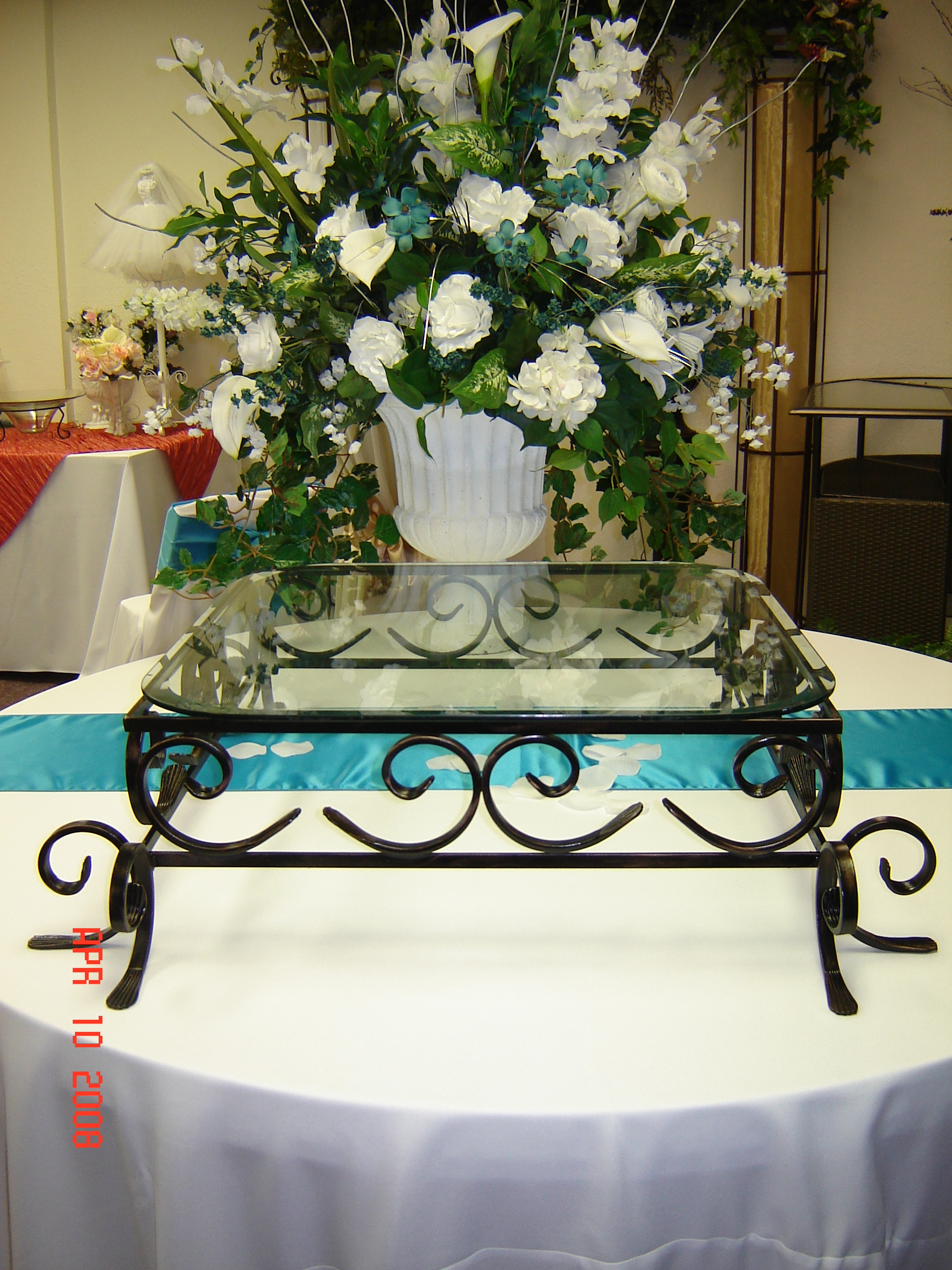 Simply Elegant Weddings- Cake Stands, Silver, Gold, Silver cake ...