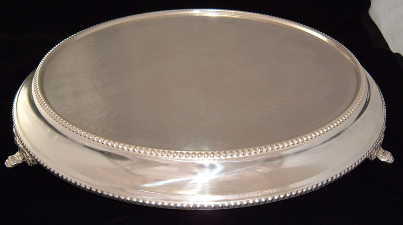 Simply Elegant Weddings Cake Stands Silver Gold Silver