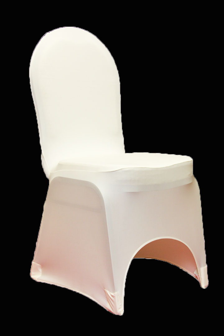 Simply elegant weddings chair cover rentals spandex scuba
