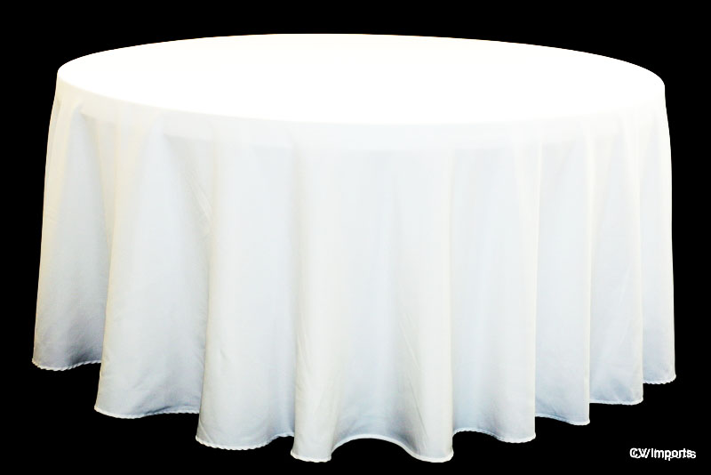 Table Linens Round Decoration News : white20tablecloth1 from decorationnews.blogspot.com size 800 x 534 jpeg 47kB